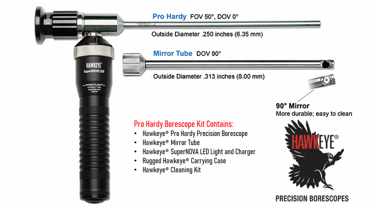 Link to Hawkeye® Pro Hardy Borescopes .250″ (6.35 mm)