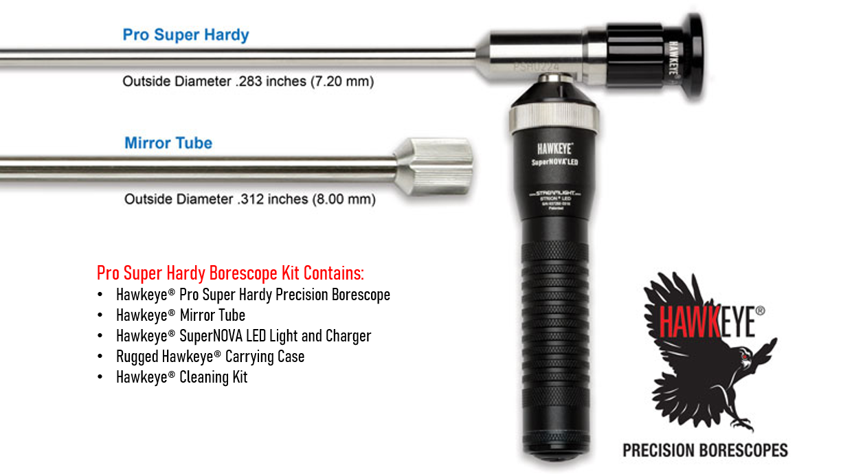 Link to Hawkeye® Pro Super Hardy Borescopes .283″ (7.20 mm)