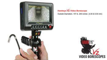 Hawkeye® V2 Video Borescopes