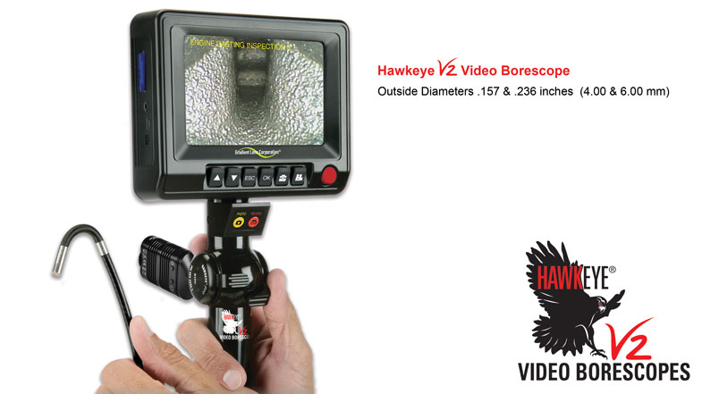 Hawkeye® V2 Video Borescopes