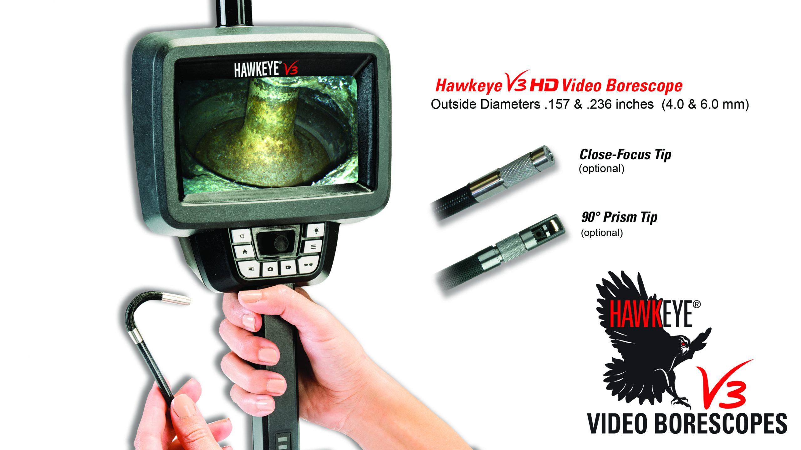 Link to Hawkeye® V3 HD Video Borescopes