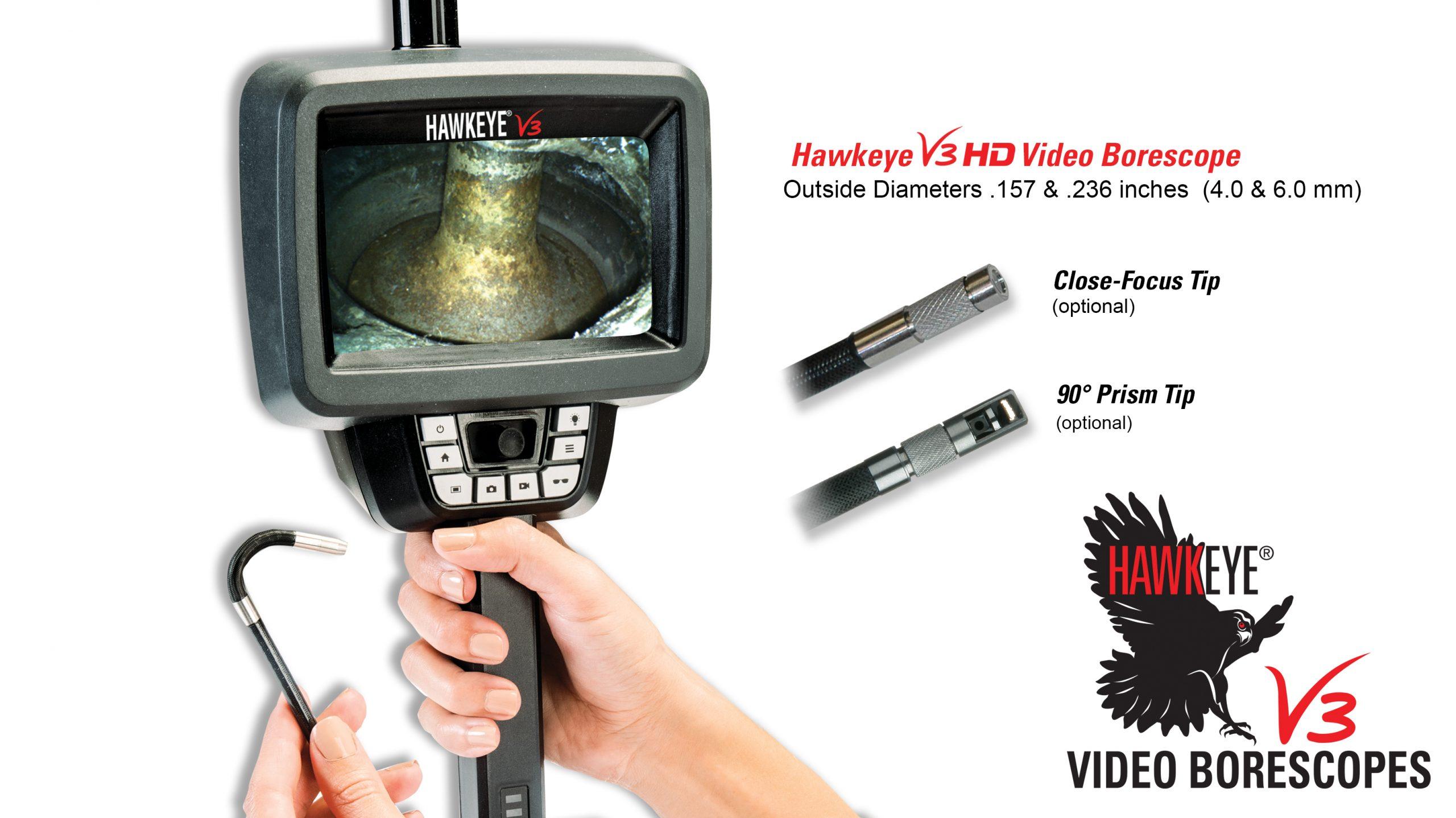 Link to Hawkeye® V3 HD Video Borescopes